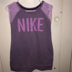 purple Nike tank!